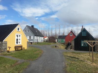 Árbæjarsafn að vori