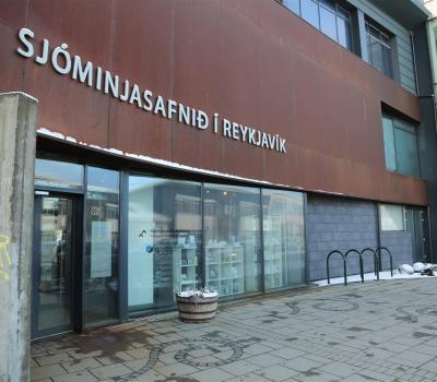 Inngangur að Sjóminjasafninu í Reykjavík