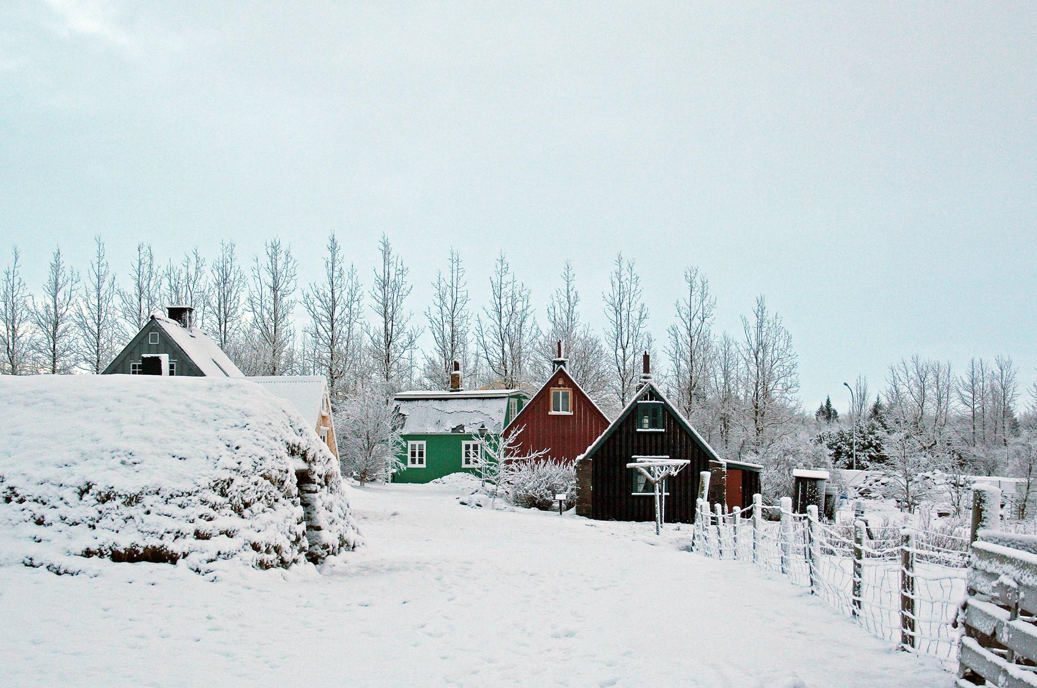 Jól í Árbæjarsafni Kertagerð