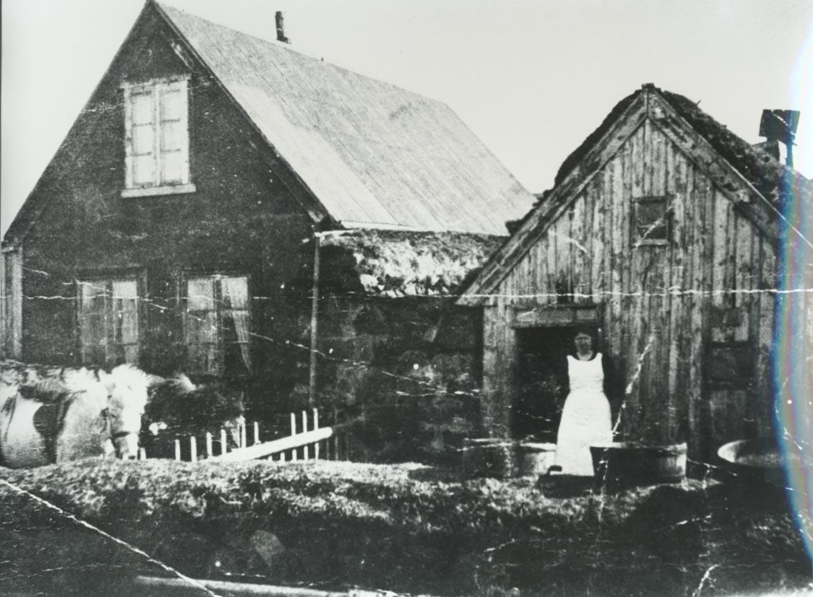 Árbær 1911 / Arbaer farm 1911