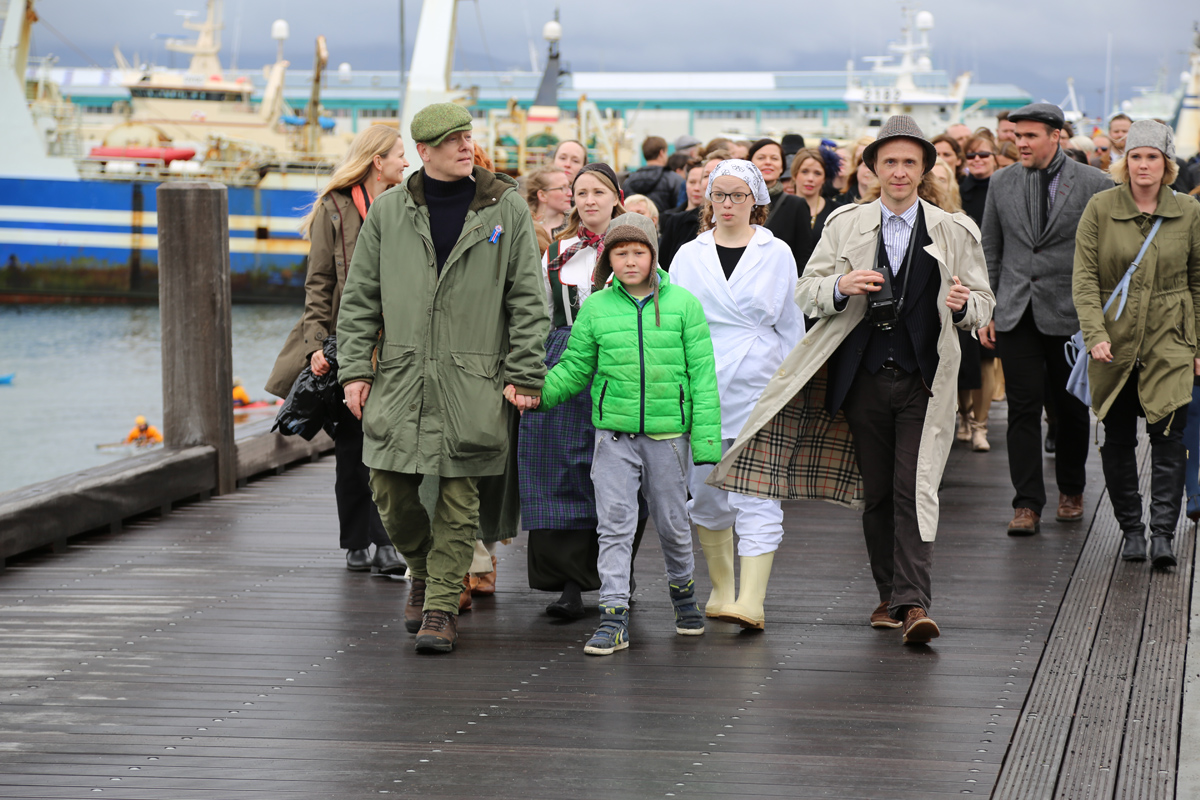 Opnun Borgarsögusafns 1.6.2014 / Opening of the Reykjavík City Museum