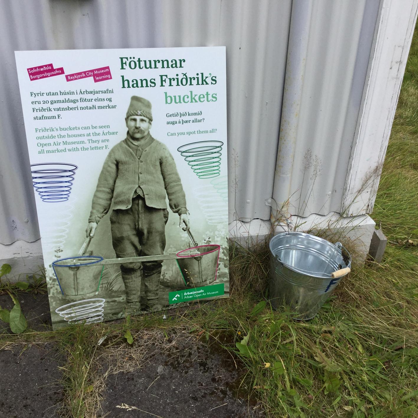 Árbæjarsafn: Föturnar hans Friðriks