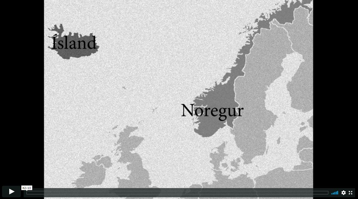 Fjarfræðsla - Siglum til Íslands