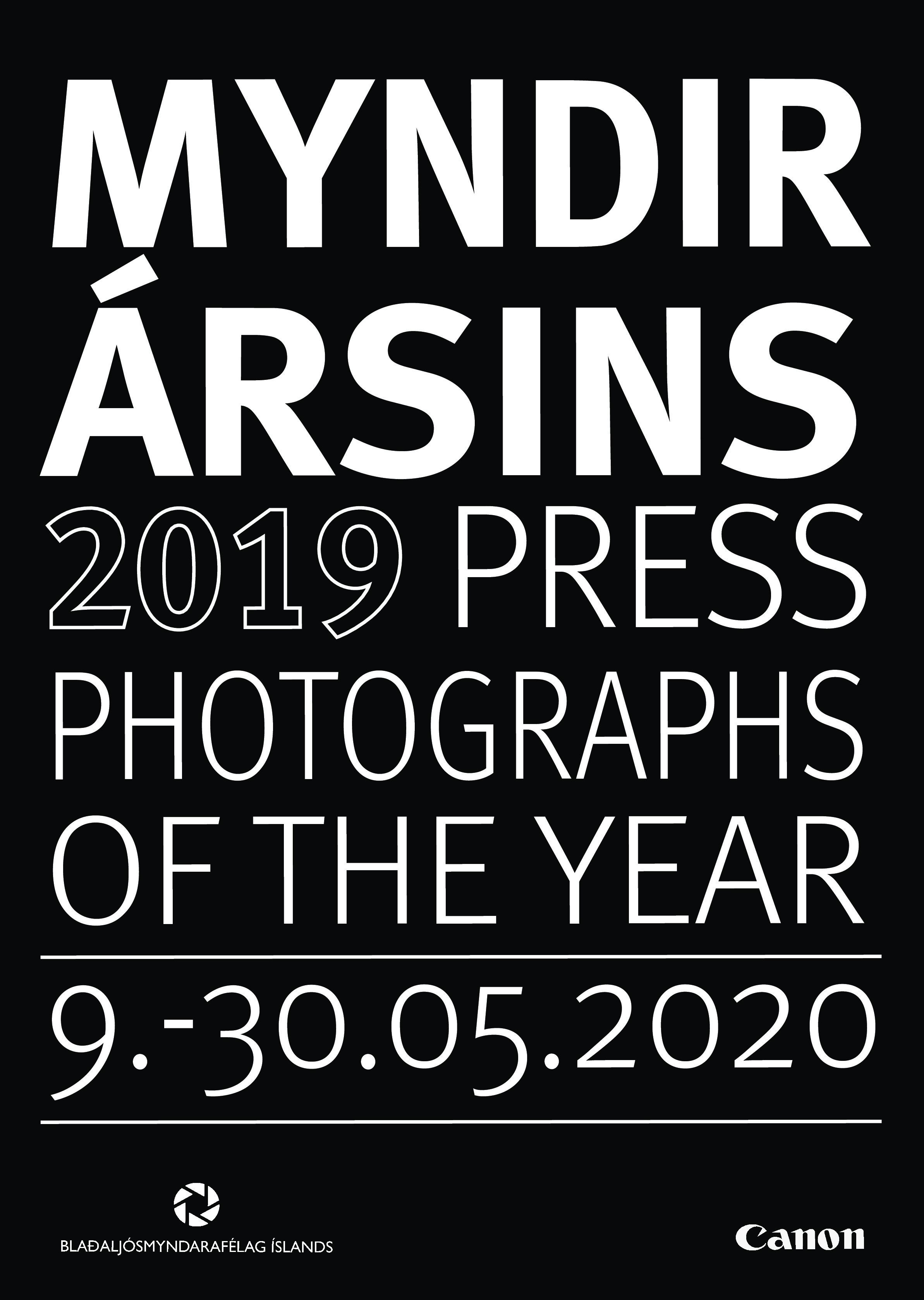 Myndir ársins 2019 / Photographs of they year 2019